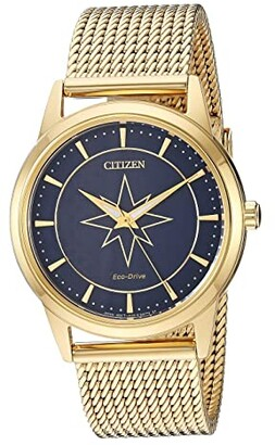 Citizen Captain Marvel FE7062-51W (Gold Tone) Watches