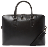 Burberry Barrow London Leather Briefcase