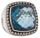 David Yurman Topax & Diamond Albion Ring