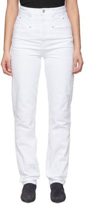 Isabel Marant White Dominic Jeans