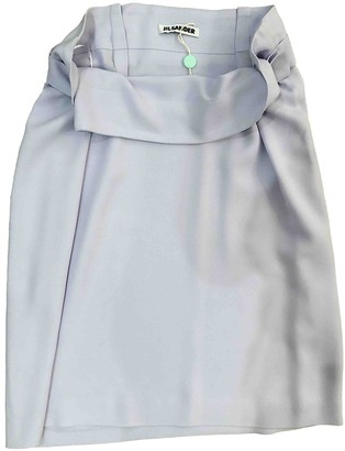 Jil Sander Purple Synthetic Skirts