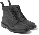 Tricker's - Stow Nubuck Brogue Boots
