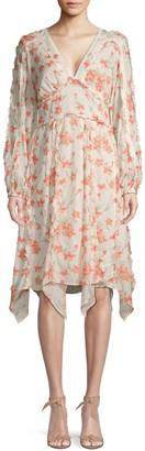 Love Sam Spring Foliage Print Dress