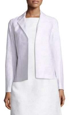Lafayette 148 New York Milena Cotton and Silk Jacquard Jacket