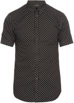 Alexander McQueen Micro skull-print short-sleeved shirt