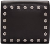 Versus Black Studded Medallion Clutch