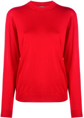 Plan C Long-Sleeve Knit Cashmere Jumper