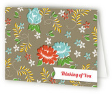 Minted Vintage Table Cloth Folded Personal Stationery