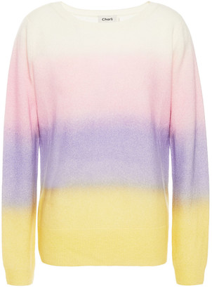 Charli Camomile Degrade Cashmere Sweater