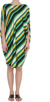 Gianluca Capannolo All Over Stripe Dress