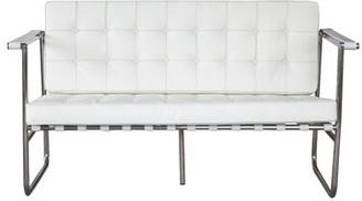 Fine Mod Imports Celona Loveseat Upholstery Color: White