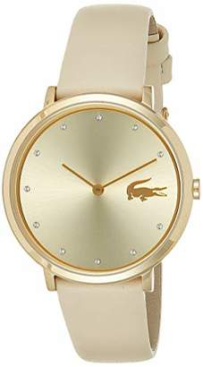 Lacoste Unisex-Adult Analogue Classic Quartz Watch with Leather Strap 2001030
