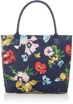 Joules Printed Canvas Shoulder Bag