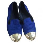 Giuseppe Zanotti Blue Pony-style calfskin Flats