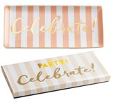 Rosanna Let's Party - Celebrate Porcelain Trinket Tray