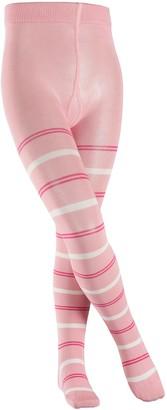 Falke Kids Pencil Stripe Tights - Cotton Blend