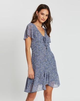 Atmos & Here Mimi Floral Tie Dress
