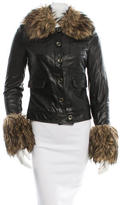 Rachel Zoe Gloria Leather Jacket