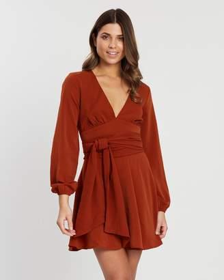 Atmos & Here Carlie V-Neck Dress
