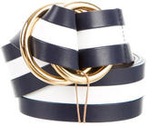 Michael Kors Bicolor Striped Belt w/ Tags