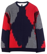 Marni Virgin Wool And Cotton-blend Sweater