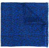 Lanvin animal print scarf