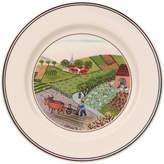 Villeroy & Boch Design Naif Appetizer/Dessert Plate #4 - Plowing 6 3/4 in
