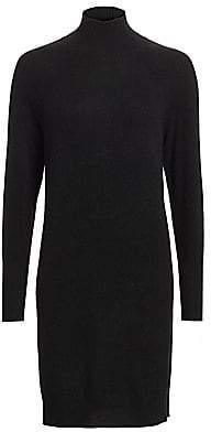Saks Fifth Avenue Women's Cashmere Turtleneck Sweater Dress