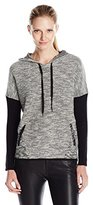 Colourworks Colour Works Women's Long Sleeve Textured Hoodie