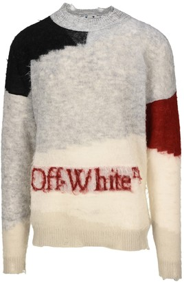 Off-White Logo Knit Pullover