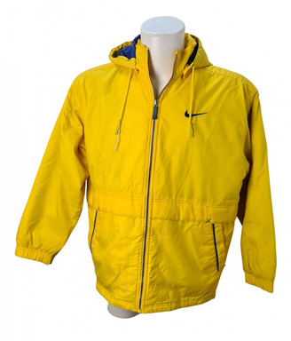 Nike Yellow Polyester Jackets