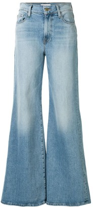 Frame High Rise Flared Style Jeans