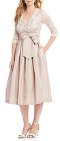 Jessica Howard Lace Taffeta Party Dress
