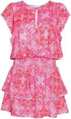 Melissa Odabash Keri tiered beach dress