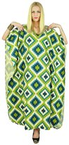 Kokom Kaftan Printed Women Dress Bohemian Long Cotton Maxi Nightwear Caftan