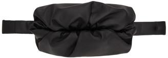 Bottega Veneta Black The Body Pouch Messenger Bag