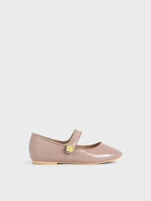 Charles & Keith Girls' Mary Jane Ballerinas