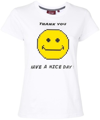 Mostly Heard Rarely Seen 8-Bit slogan print T-shirt