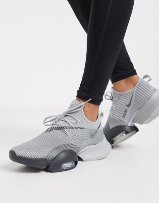 Nike Training Air Zoom SuperRep sneakers in grey