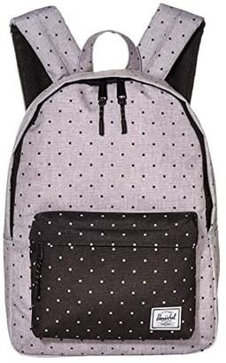 Herschel Classic Mid-Volume (Raven Crosshatch) Backpack Bags