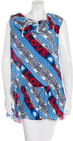 Love Moschino Silk Printed Tunic
