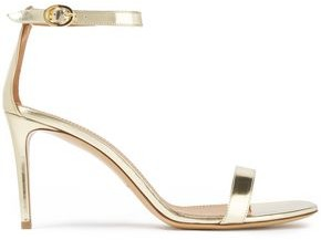 Mansur Gavriel Metallic Leather Sandals