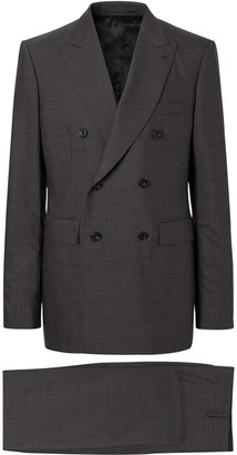 Burberry Classic Fit Windowpane Check Suit