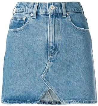 Chiara Ferragni Wink Denim Skirt