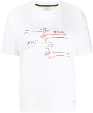 Paul Smith Hello-print T-shirt