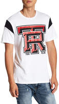 True Religion Graphic Football Sleeve Tee