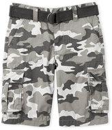 Levi's Boys 8-20) Camouflage Belted Cargo Shorts