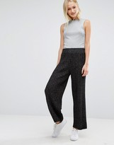 Monki Knitted Cropped Pants