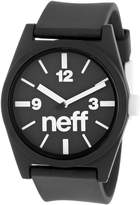 Neff Men's NF0201- Custom Designed and PU Strap Watch