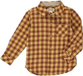 Me & Henry Boy's Cotton Plaid Button-Down Shirt, Size 3T-8